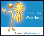 2009 top web host